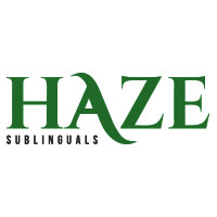 haze sublinguals cannabis logo