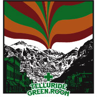 telluride green room dispensary logo
