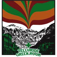telluride green room dispensary logo